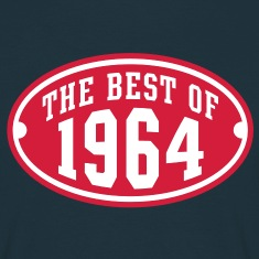 THE BEST OF 1964 2C Birthday Anniversaire Geburtstag T-Shirt RN