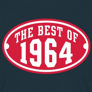 THE BEST OF 1964 2C Birthday Anniversaire Geburtstag T-Shirt RN - Koszulka męska