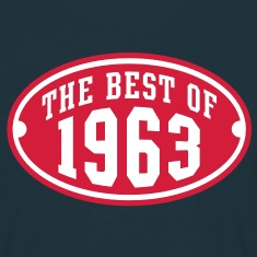 THE BEST OF 1963 2C Birthday Anniversaire Geburtstag T-Shirt RN
