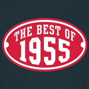 THE BEST OF 1955 2C Birthday Anniversaire Geburtstag T-Shirt - Mannen T-shirt