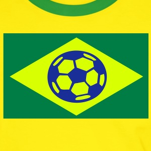 brasil_selecao_fans Tee shirts - T-shirt contraste Homme