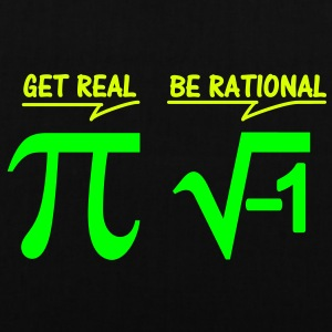 be rational - get real (2c) Taschen - Stoffbeutel