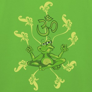 The frog sings the OM at his Yoga-Lesson Sudaderas niños - Sudadera con capucha premium niño