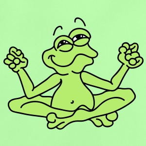 Little frog in the  position meditating Baby Shirts  - Baby T-Shirt
