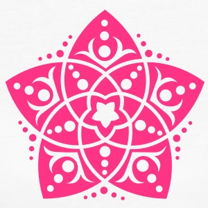 Venus Flower, Vector - FLOWER OF LOVE, symbol of love, balance and beauty /  T-Shirts - Women's Organic T-shirt
