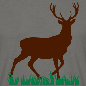 Deer in grass 2 T-Shirts - Men's T-Shirt