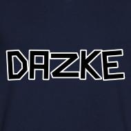 Motiv ~ DAZKE V-Kragen T-Shirt