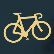Design ~ Bicycle T Shirt Mens