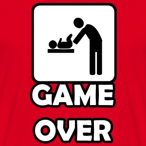 Game Over- Vaterschaft T-Shirts - Männer T-Shirt
