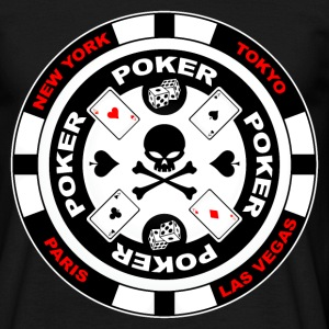 poker team design 3 Tee shirts - T-shirt Homme