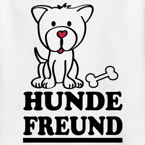 Hundefreund Kinder T-Shirts - Teenager T-Shirt