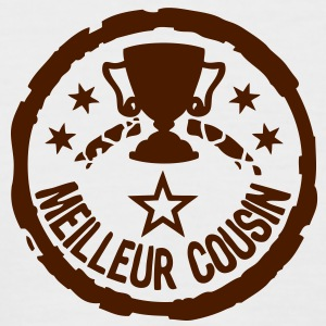 meilleur cousin trophe coupe trophy1 Tee shirts - T-shirt baseball manches courtes Homme