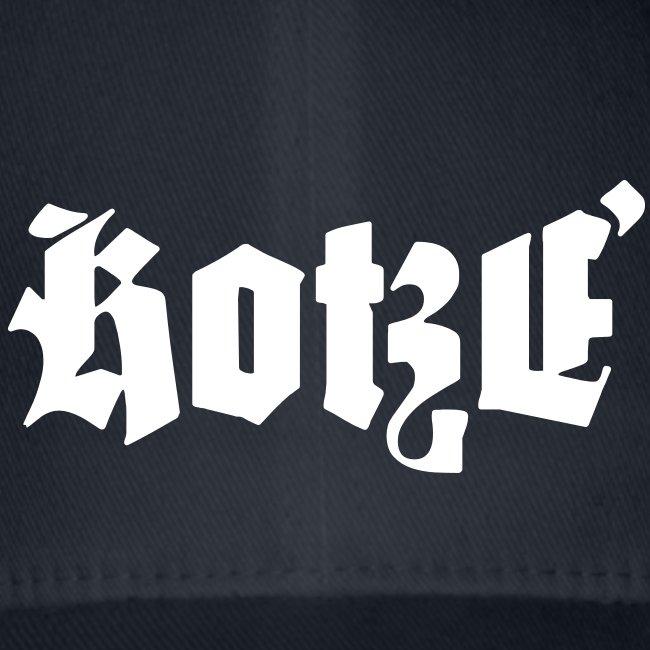 Kotzé Baseballcap klassisch weiß