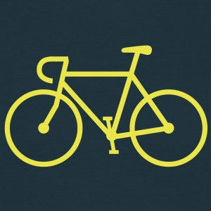 Fahrrad Bike Rennrad Bicycle Singlespeed Bicycle Fixie Icon - Männer T-Shirt