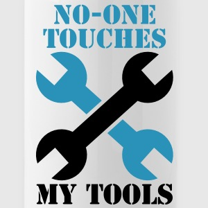 NO-ONE Touches my tools Bottles & Mugs - Water Bottle