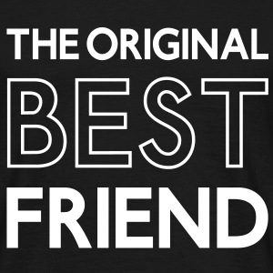The original BEST FRIEND, Best Firends, beste Freunde, Sprüche, www.eushirt.com T-Shirts - Männer T-Shirt