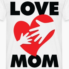 Love Mom 1 (dd)++ T-Shirts