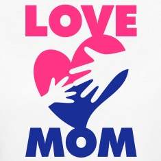 Love Mom 1 (2c)++ T-Shirts
