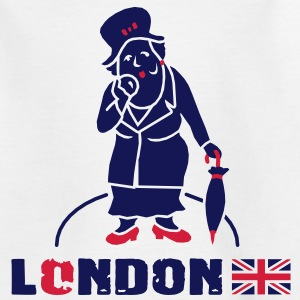 London - Miss Marple Kinder T-Shirts - Kinder T-Shirt