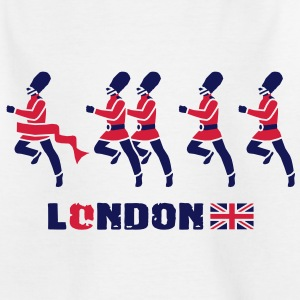 London - Königliche Garde Kinder T-Shirts - Teenager T-Shirt