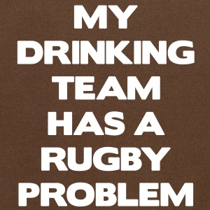 My Drinking Team Has a Rugby Problem Tassen - Schoudertas