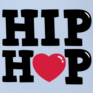 I heart Hip Hop T-Shirts - Baby Bio-Kurzarm-Body