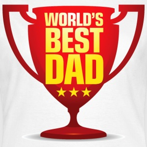 Worlds Best Dad 9 (dd)++ T-shirts - Vrouwen T-shirt