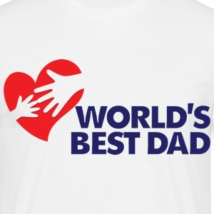 Worlds Best Dad 8 (dd)++ T-shirts - T-shirt herr