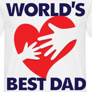Worlds Best Dad 7 (dd)++ Camisetas - Camiseta hombre
