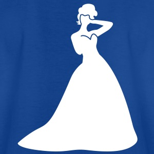 Beautiful Bride in a dress pretty Shirts - Kids' T-Shirt