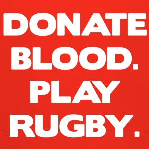 Donate Blood. Play Rugby. Kids' Tops - Kids' Premium Hoodie