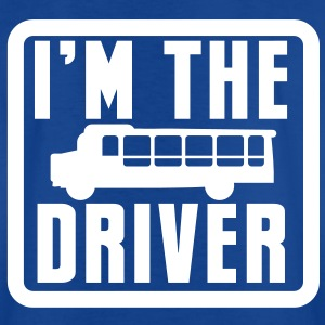 I'm the BUS DRIVER with a bus in a square Shirts - Kids' T-Shirt