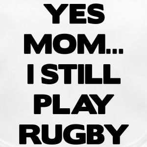 Yes Mom... I Still Play Rugby Accessories - Baby økologisk hagesmæk
