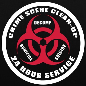 Crime Scene Clean-Up Bags  - Tote Bag