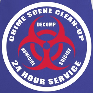 Crime Scene Clean-Up  Aprons - Cooking Apron