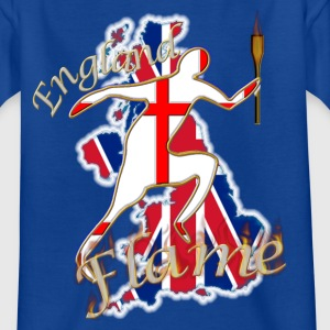 UK union jack shirt number 12 two sided Shirts - Kids' T-Shirt
