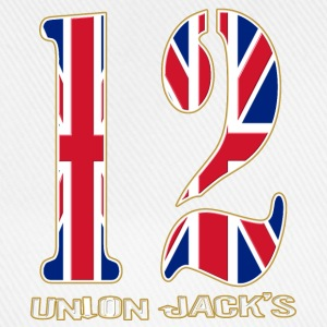 uk union jacks number 12 Caps & Hats - Baseball Cap