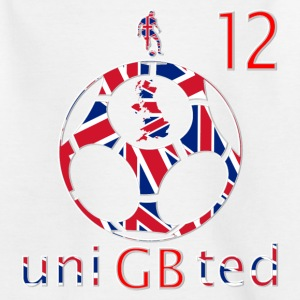 uk union jacks number 12 Kids' Shirts - Teenage T-shirt