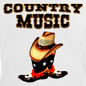 country music T-shirt - Maglietta Contrast da donna