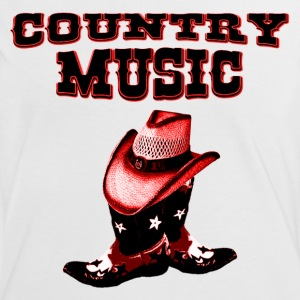 country music T-Shirts - Frauen Kontrast-T-Shirt