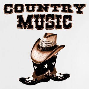 country music Skjorter - Baby-T-skjorte