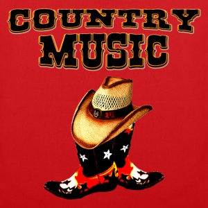 country music bolsas - Bolsa de tela