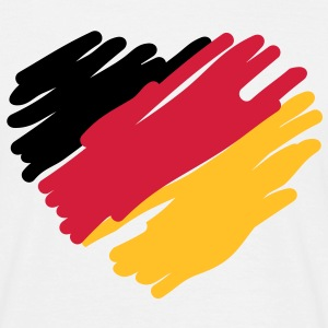 german heart T-shirts - T-shirt herr