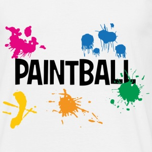 Paintball !! T-Shirts - Männer T-Shirt