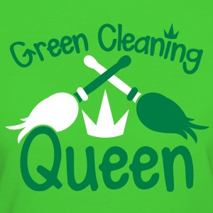 GREEN CLEANING Queen! eco friendly cleaner T-Shirts - Women's Organic T-shirt