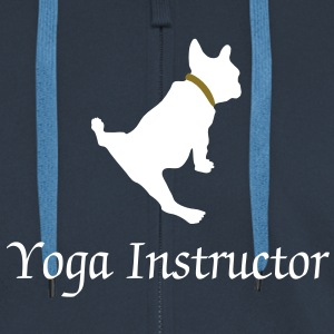 dog_yoga Gensere - Premium Hettejakke for menn