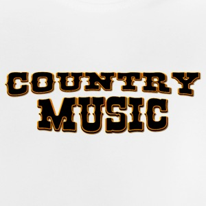 country music Camisetas - Camiseta bebé
