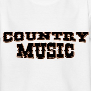 country music Camisetas - Camiseta niño