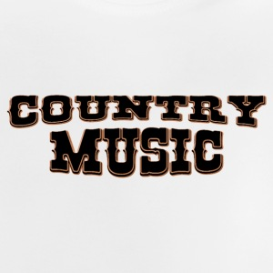 country music T-shirts - Baby-T-shirt