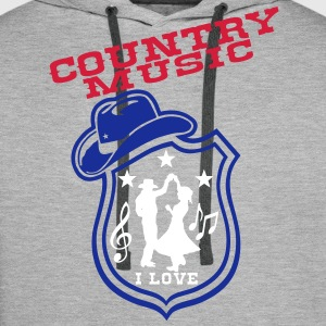 country music Sweat-shirts - Sweat-shirt à capuche Premium pour hommes